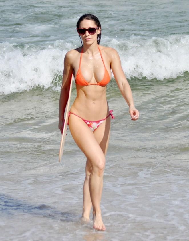 Anais Zanotti – Wearing Bikini on Miami Beach