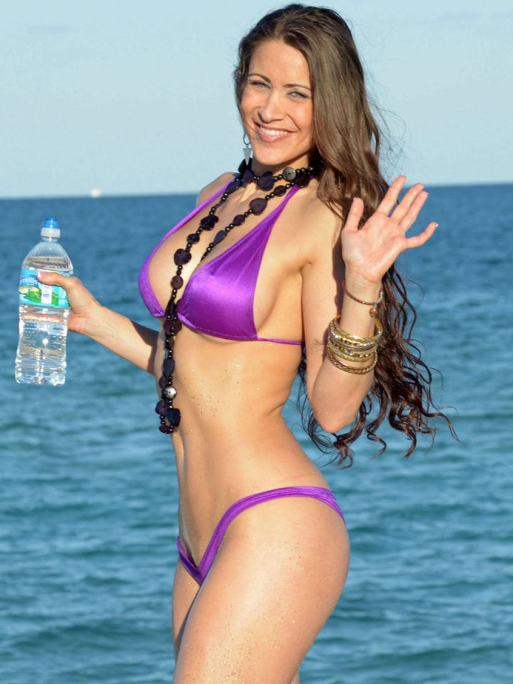 Bella Twins Bikini Photos: 2014 Miami -02