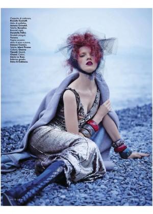 Anastasia Ivanova - Vanity Fair Italy Magazine (December 2014)