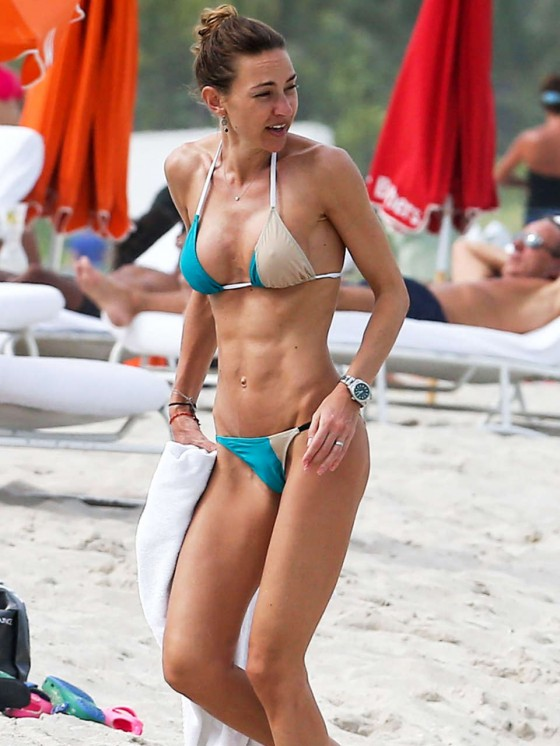 Andrea Burstein in a Bikini -05