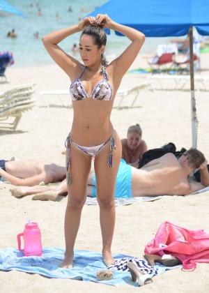 Andrea Calle Bikini Photos: Miami 2014 -02