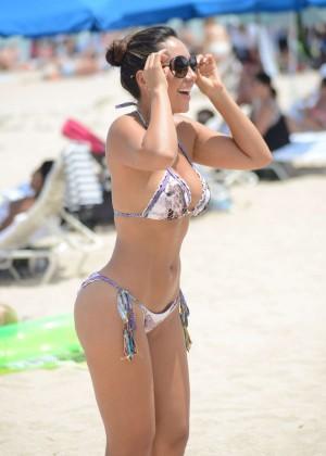 Andrea Calle Bikini Photos: Miami 2014 -06