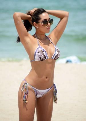 Andrea Calle Bikini Photos: Miami 2014 -08