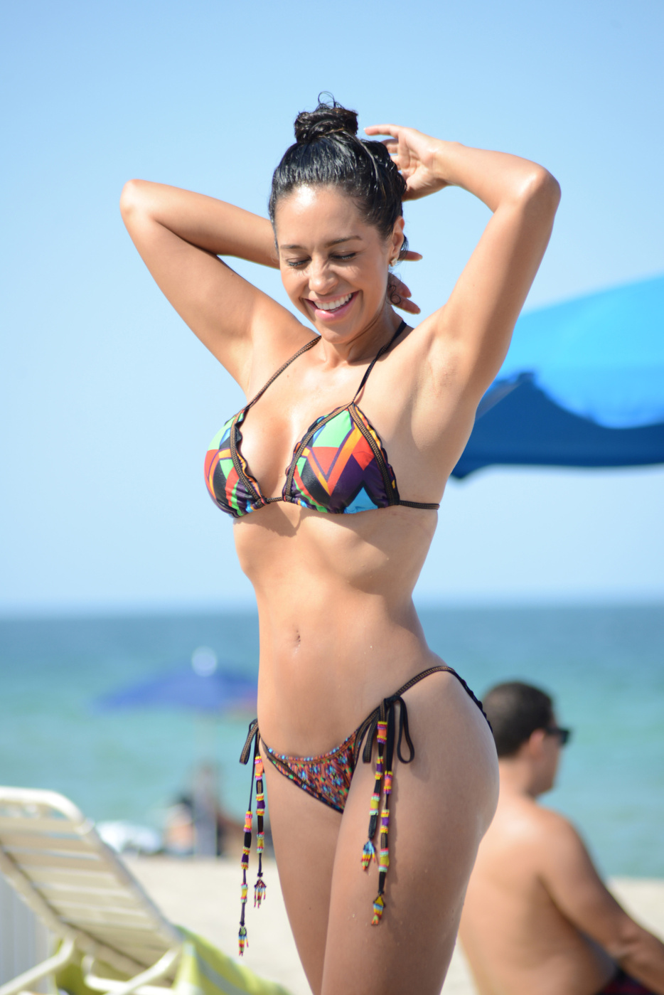 90a58d3d7 Andrea Calle Hot Bikini Photos: in Miami 2014 -12 | GotCeleb