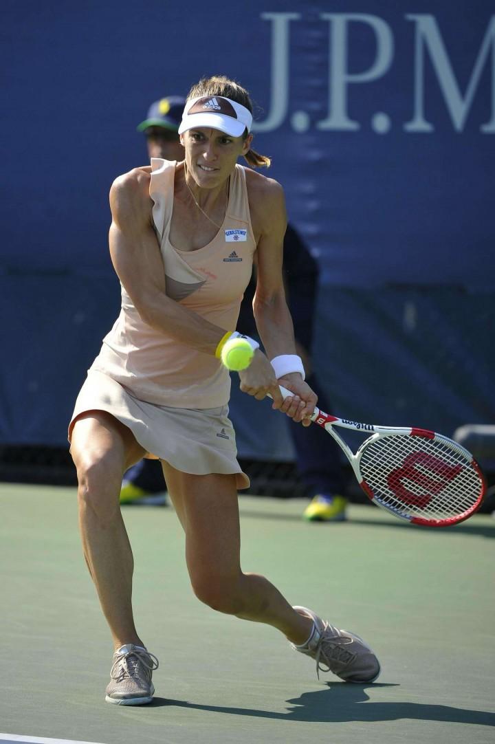 Andrea Petkovic - 2014 U.S. Open tennis tournament in New York