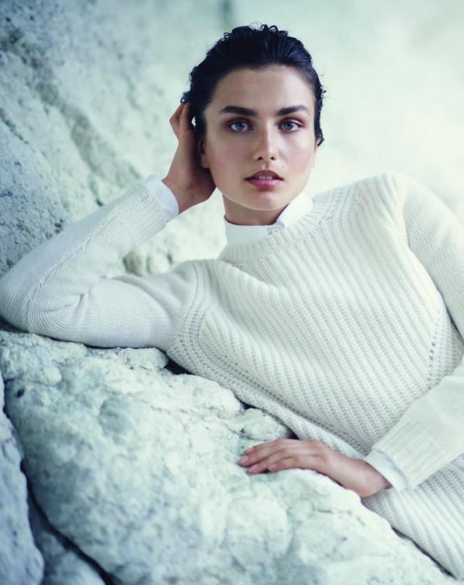 Andreea Diaconu - Jcrew Catalog (October 2014)
