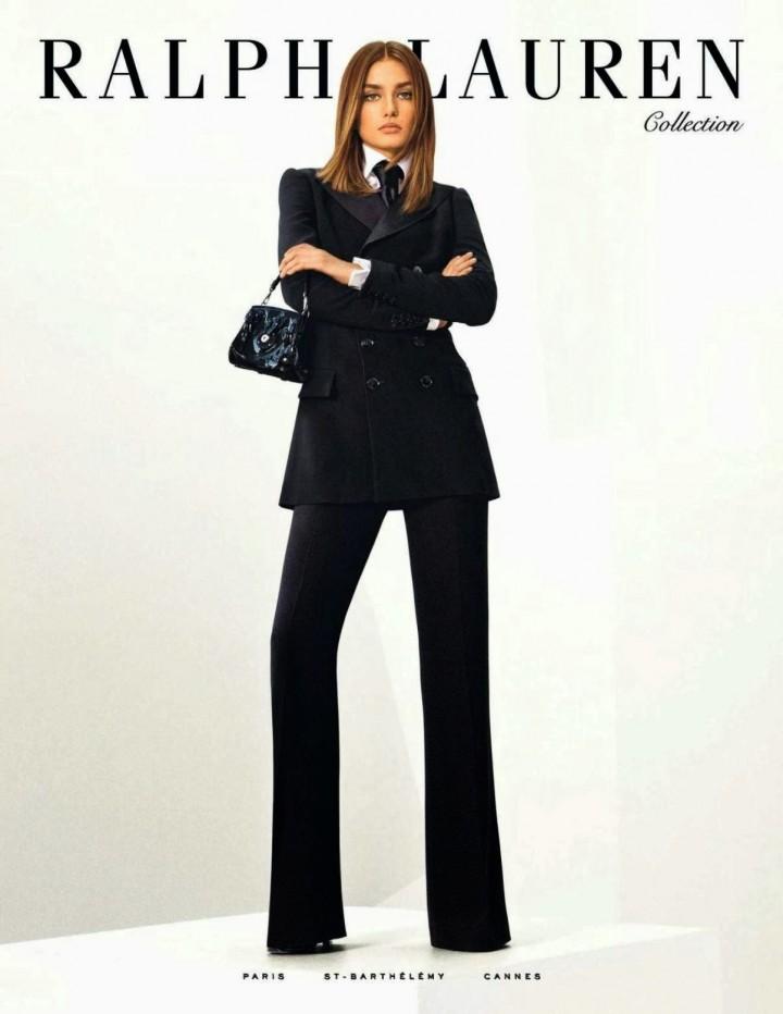 Andreea Diaconu: Ralph Lauren 2014 Collection -02