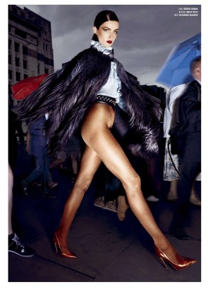 Andreea Diaconu - V Magazine (Fall 2014)