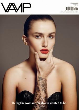 Andreea Diaconu: Vamp Magazine -01