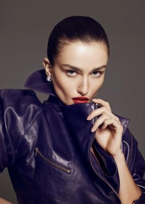 Andreea Diaconu: Vamp Magazine -02