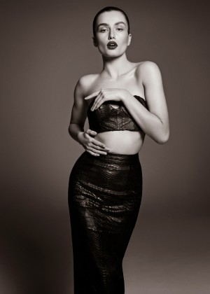Andreea Diaconu: Vamp Magazine -04