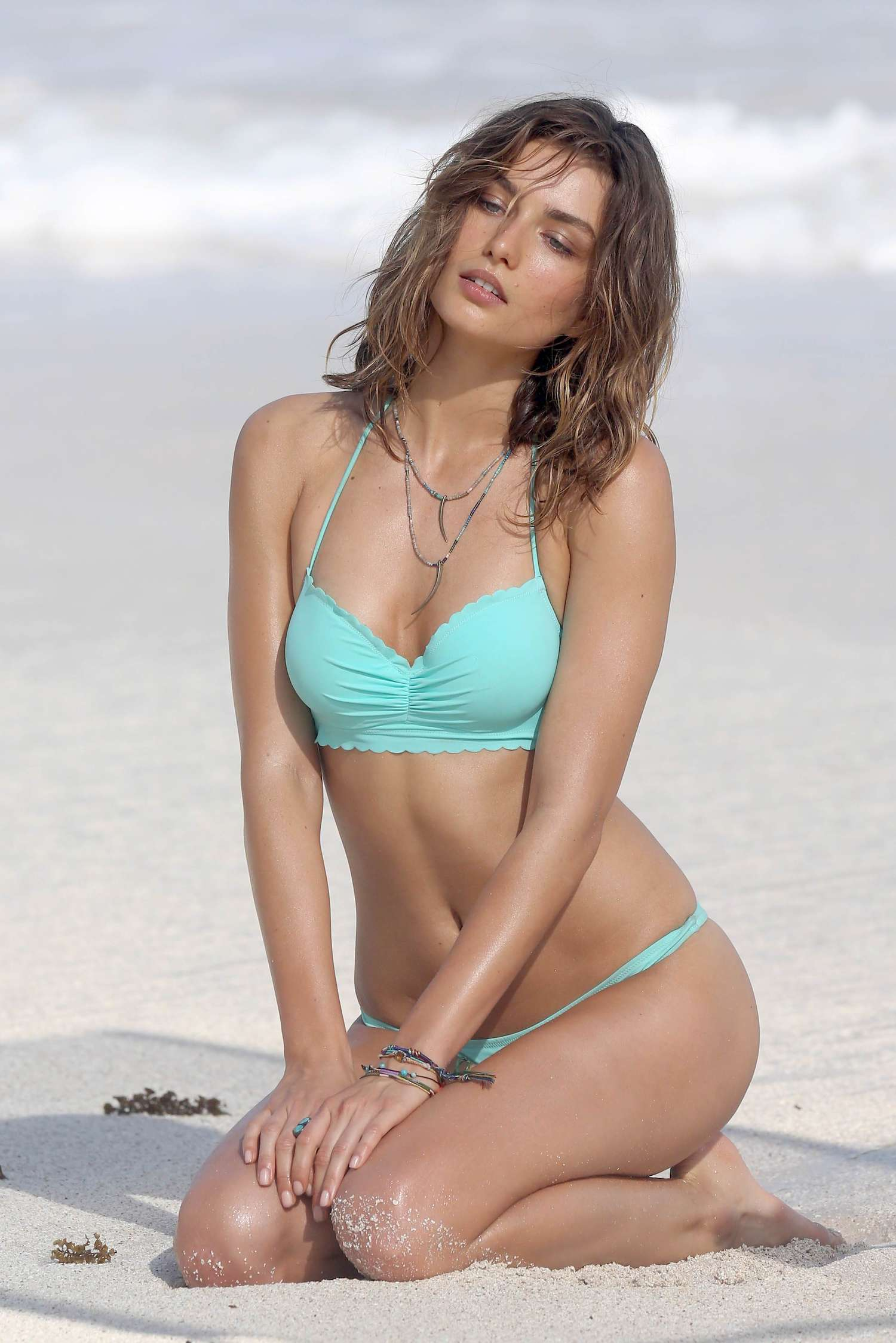 Andreea Diaconu – Victoria's Secret Bikini Photoshoot in ...