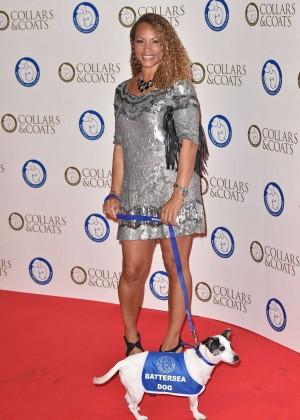 Angela Griffin - Battersea Dog's Collars & Coats Gala Ball in London