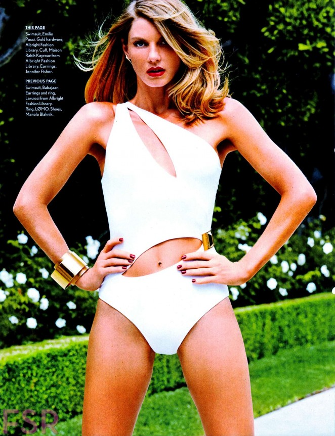 Angela Lindvall - Maxim Magazine (October 2014)