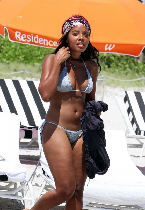 Angela Simmons in Bikini-02