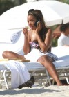 Angela Simmons Bikini on the Beach in Miami pic -22