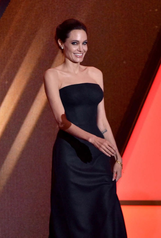 Angelina Jolie - 18th Annual Hollywood Film Awards