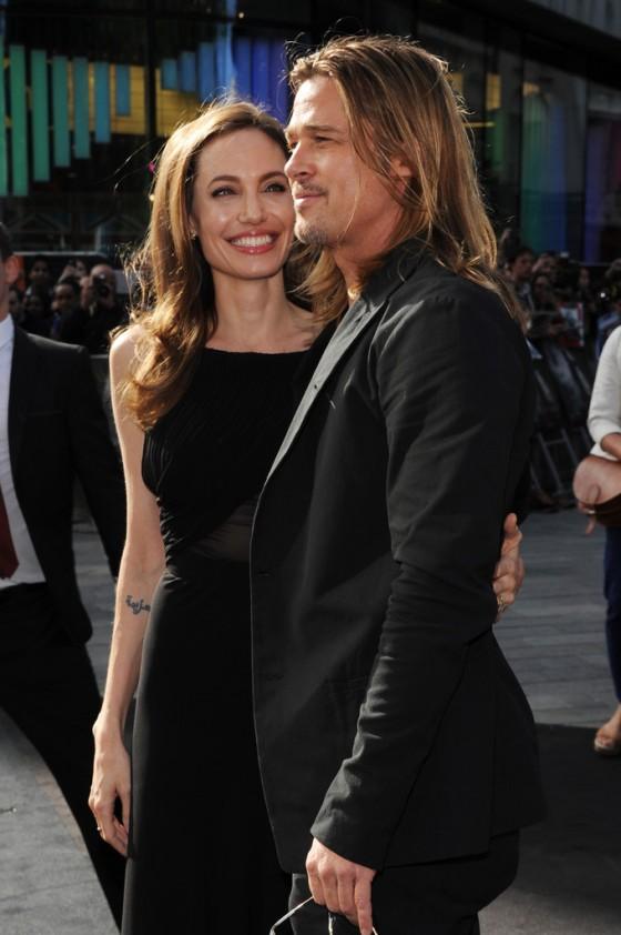 Angelina Jolie at World War Z premiere in London -01