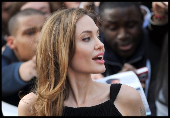 Angelina Jolie at World War Z premiere in London -03