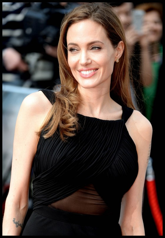Angelina Jolie at World War Z premiere in London -06