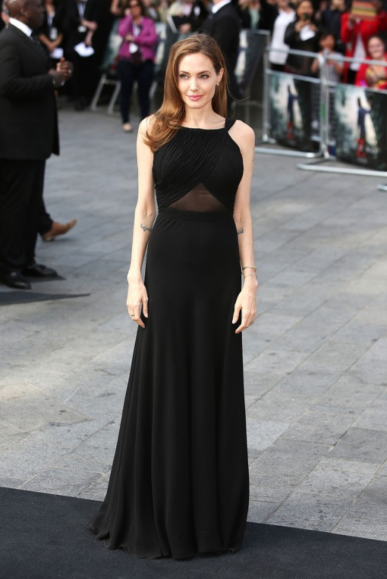Angelina Jolie at World War Z premiere in London -09