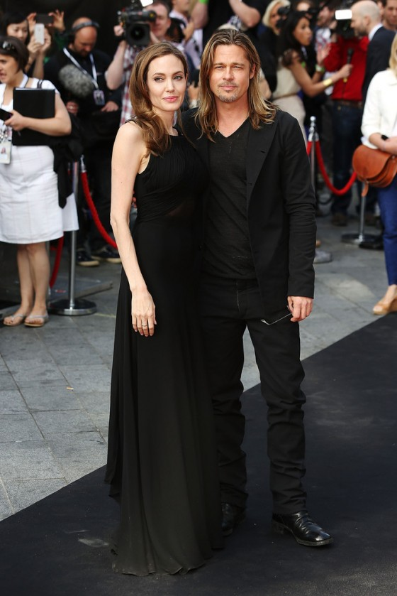 Angelina Jolie at World War Z premiere in London -10
