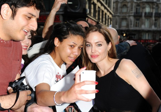 Angelina Jolie at World War Z premiere in London -14