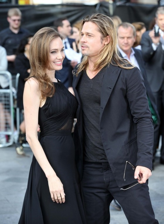 Angelina Jolie at World War Z premiere in London -18