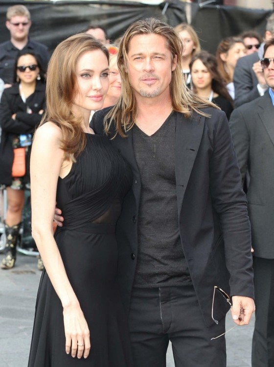 Angelina Jolie at World War Z premiere in London -20