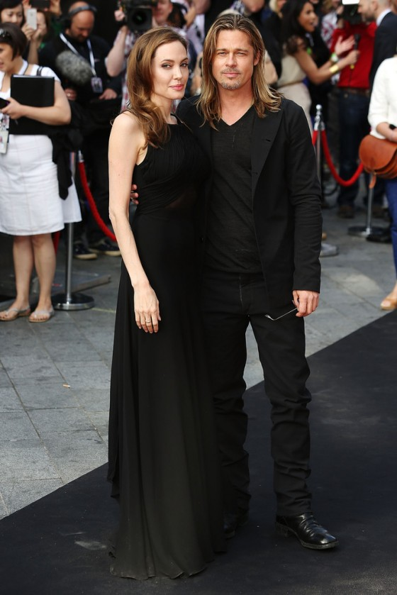 Angelina Jolie at World War Z premiere in London -23