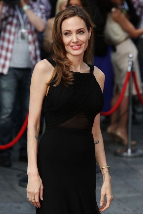 Angelina Jolie at World War Z premiere in London -29