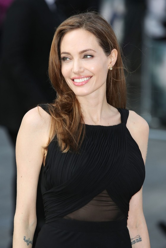 Angelina Jolie at World War Z premiere in London -30