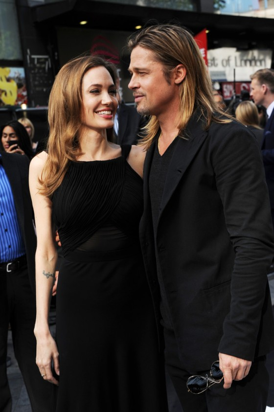 Angelina Jolie at World War Z premiere in London -35
