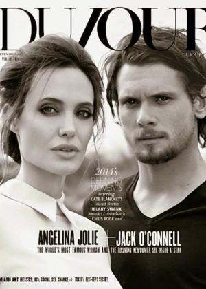 Angelina Jolie - DuJour Magazine (Winter 2014)