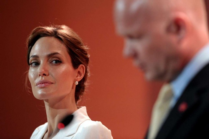 Angelina Jolie – Global Summit to End Sexual Violence in Conflict