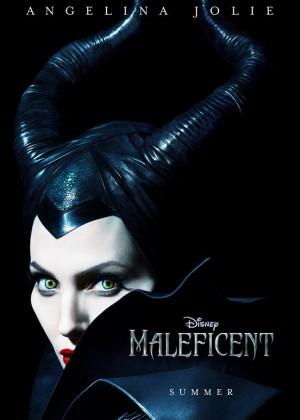 Angelina Jolie: Maleficent Poster -02