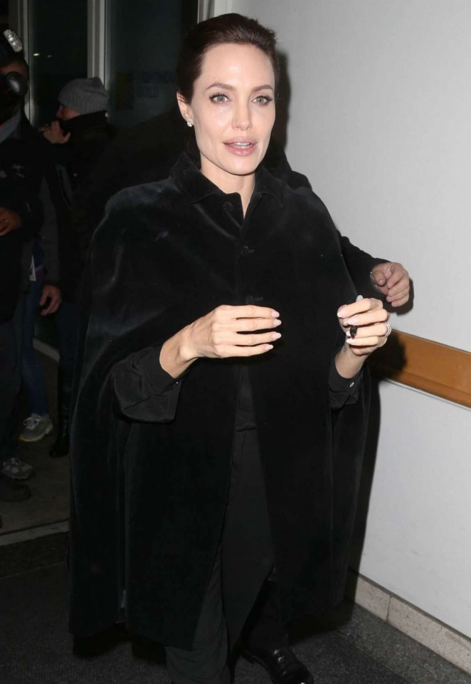 Angelina Jolie Night Out in NYC