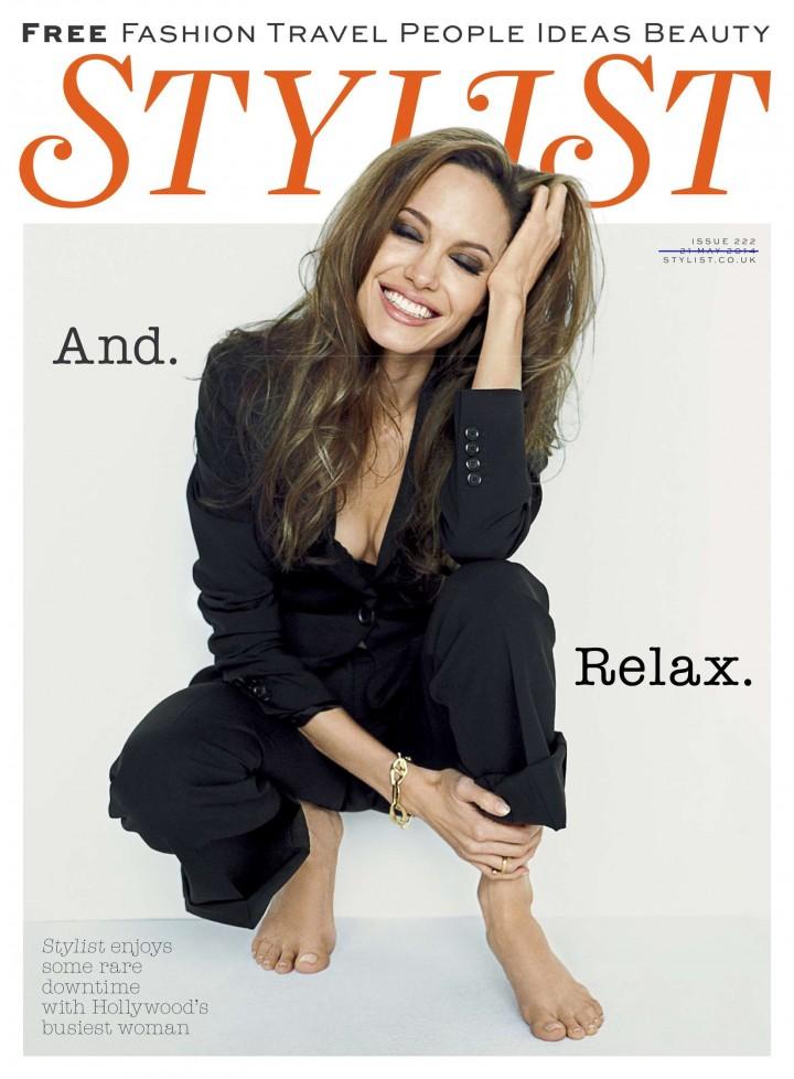Jolie Magazine November 2017 Issue: Stylist (UK) Magazine (May 2014)