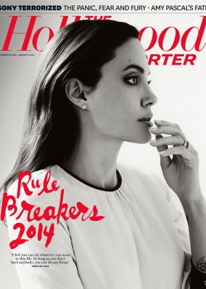 Angelina Jolie - The Hollywood Reporter Cover Magazine (Dec 2014/Jan 2015)