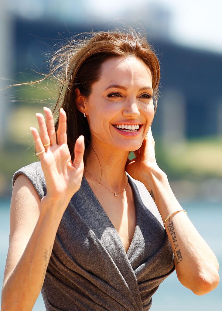 Uncategorized 2014 : Angelina Jolie: Unbroken Photocall -01