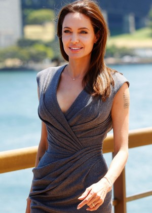 "Angelina Jolie - ""Unbroken"" Photocall in Sydney"