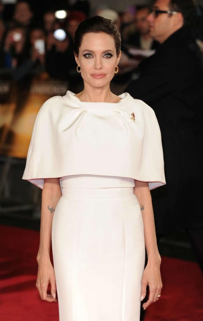"""Angelina Jolie – """"Unbroken"""" Premiere in London"""