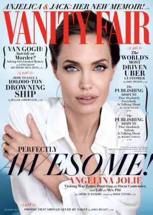 Angelina Jolie - Vanity Fair Magazine Cover (December 2014)