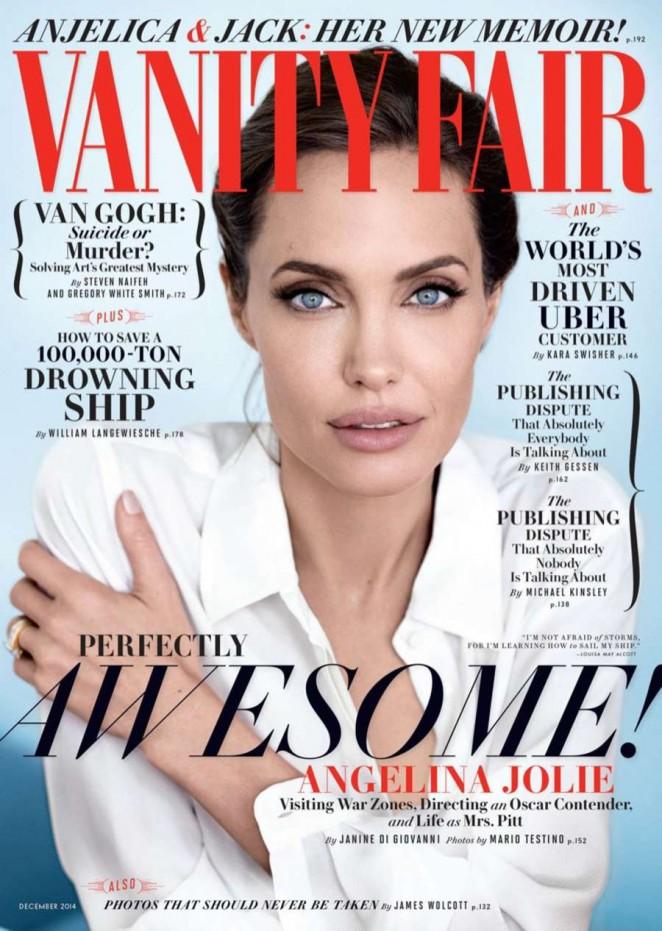 Angelina Jolie – Vanity Fair Magazine (December 2014)
