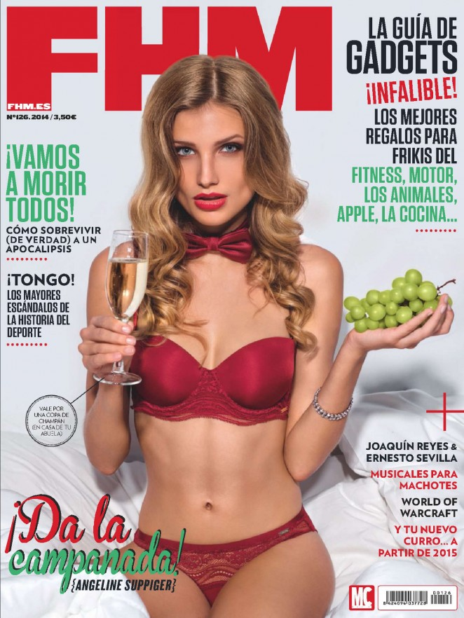 Angeline Suppiger - FHM Spain Magazine (December 2014)