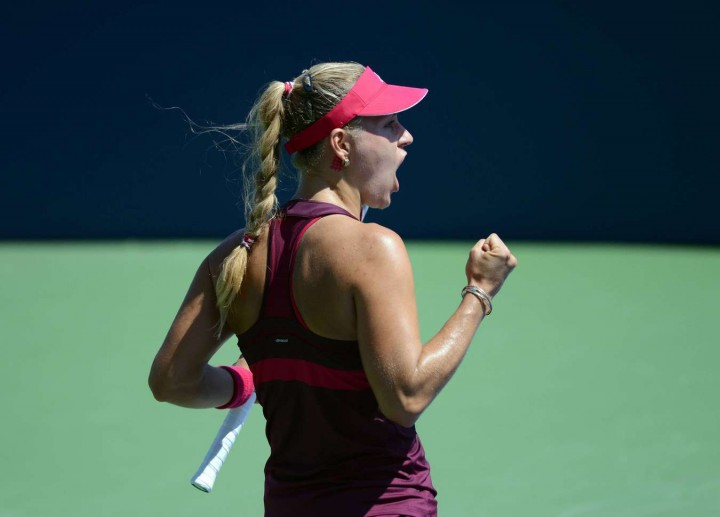 Angelique Kerber - 2014 U.S. Open tennis tournament in New York