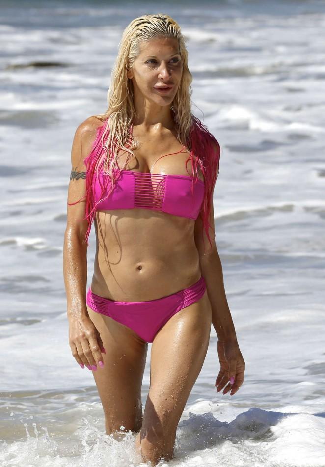 Angelique Morgan in Bikini Bikini Photoshoot in Malibu