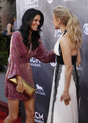 Angie Harmon: 2014 Academy of Country Music Awards -03