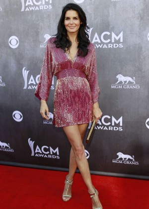 Angie Harmon: 2014 Academy of Country Music Awards -06