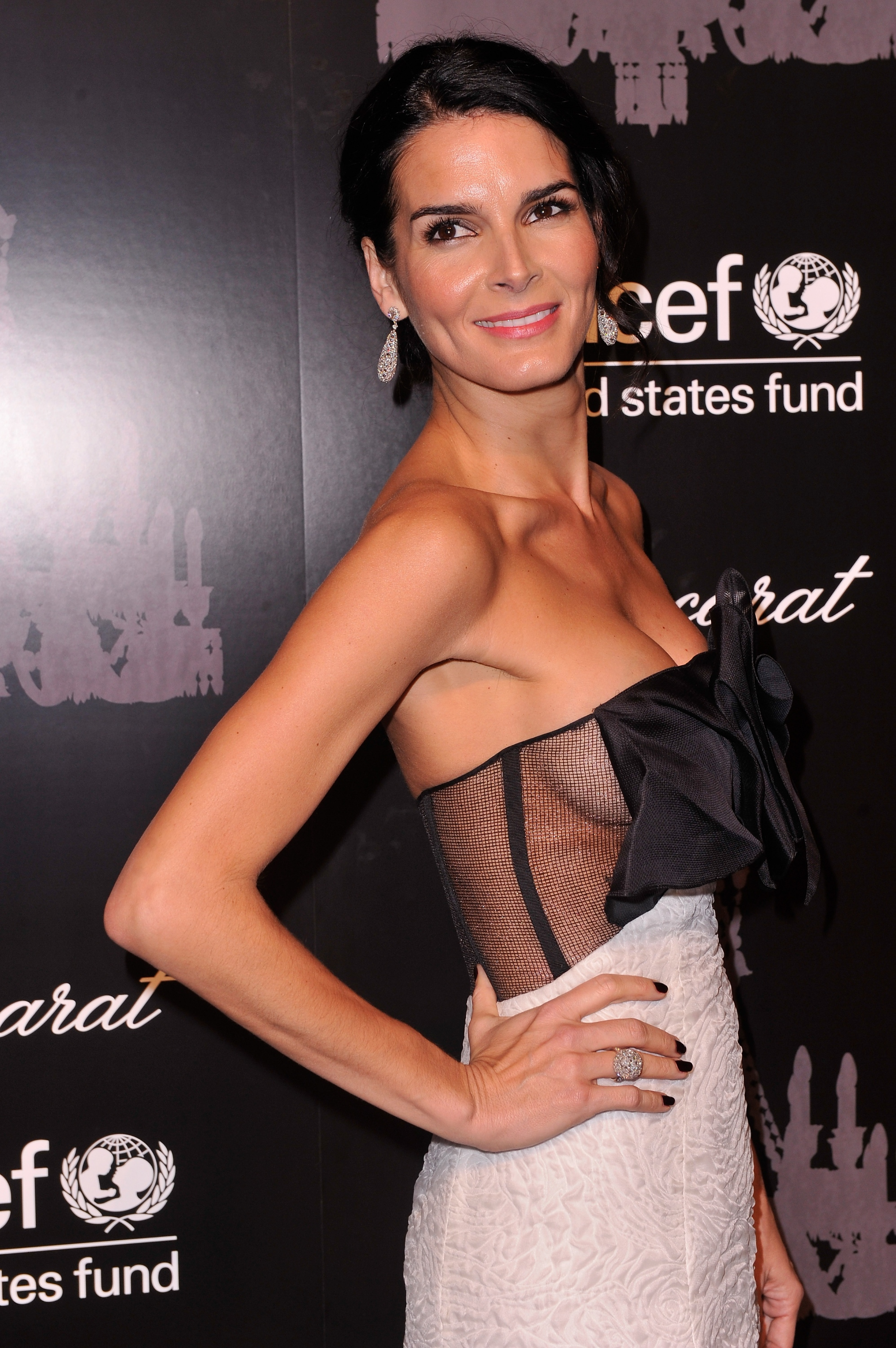 Angie Harmon - The 9th Annual UNICEF Snowflake Ball in NY ...